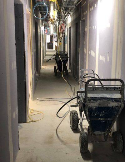 Spraywall Hallway